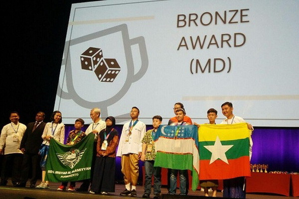 Schoolchildren from Uzbekistan win the Singapore