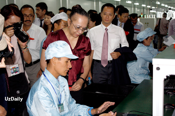 ZTE открыла завод по производству мобильных телефонов в Узбекистане