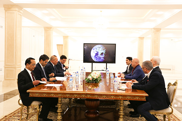 Following the visit of the delegation of the VEON group of companies in Uzbekistan